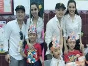 Ưng Hoàng Phúc làm sinh nhật cho con trai riêng của vợ người mẫu