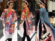 Thời trang - Những cách mặc áo dài cách tân với quần âu đẹp ngất ngây!