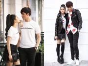 Làng sao - Vợ chồng Tim – Trương Quỳnh Anh quấn quýt nhau trên phố Hà Nội