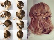 Làm đẹp - 8 kiểu tết tóc sinh ra để dành riêng cho những cô nàng tóc ngắn