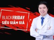 Làm đẹp mỗi ngày - Làm đẹp thả ga ngày Black Friday tại Thẩm mỹ Hoàng Tuấn