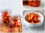 Bếp Eva - Kim chi củ cải kiểu Hàn ngon miễn bàn
