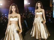 Thời trang - Tóc xù, eo thon, Hoa hậu Thùy Dung nổi bật nhất thảm đỏ thời trang