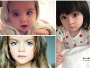 Làm mẹ - Dân mạng tranh cãi bé gái nước nào trong 3 quốc gia này có đôi mắt đẹp và hút hồn nhất