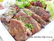 Bếp Eva - Sườn bò nướng tiêu ngon bao nhiêu cũng hết