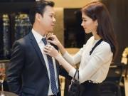 Làng sao - Dù bị ốm, Hoa hậu Thu Thảo vẫn xuất hiện tươi tắn bên bạn trai thiếu gia