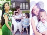 Làng sao - Ba bà mẹ đáng yêu nhất showbiz Việt