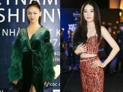 Thời trang - Mai Ngô và chị gái sinh đôi của Nam Em quậy tưng bừng thảm đỏ