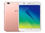 """Oppo tung smartphone A57 giá rẻ với camera """"tự sướng"""" 13 MP"""