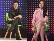 Làng sao - Gil Lê – Chi Pu cực đáng yêu khi trở thành đối thủ trên truyền hình