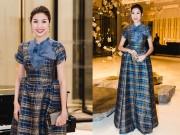 Thời trang - Á hậu Thuý Vân đẹp quý phái trong dạ tiệc của quý tộc thế giới