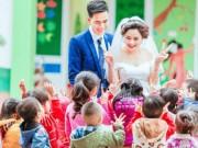 Tin tức - Bất ngờ với bộ ảnh cưới của cô giáo mầm non ngay trong trường