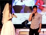 Clip Eva - Video: Công Vinh ngượng ngùng song ca với Thủy Tiên