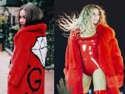 Thời trang - Hồ Ngọc Hà đụng áo khoác kim cương 750 triệu với siêu sao Beyoncé