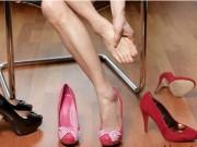 Thời trang - Khi giày mua qua mạng bị chật cứng, thay vì than vãn hãy làm ngay các mẹo sau!