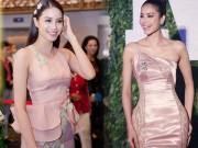 Thời trang - Không cần hở bạo chỉ cần mặc gam màu này đã đủ cho Phạm Hương tỏa sáng