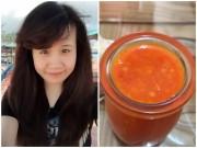 Bếp Eva - Cô nàng trưởng phòng chia sẻ cách làm tương ớt tỏi ăn phở hút nghìn like