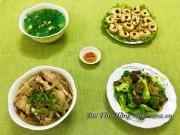 Bếp Eva - Bữa cơm 4 món ngon miệng cho gia đình