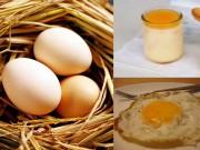 Làm đẹp - 1 quả trứng gà - 3 cách tăng cân nhanh chóng không cần dùng thuốc