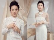 Thời trang - Người tình Cường đô la gây thương nhớ khi mặc váy trắng tinh khôi