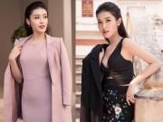 """Đẹp hoàn hảo từng centimet, Á hậu Huyền My mặc đồ công sở cũng gây """"tê liệt"""""""