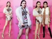 Nữ hoàng sắc đẹp Ngọc Duyên đột nhập hậu trường Victoria's Secret Show trước giờ G