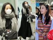 Liên tiếp dính tới tai tiếng, Triệu Vy đầu bù tóc rối, mệt mỏi tại sân bay