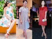 Thời trang - Bầu to vượt mặt, nhiều sao Việt vẫn đi giày cao lênh khênh