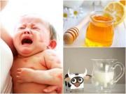 """Làm mẹ - 5 thực phẩm """"nhà nào cũng ăn"""" lại là thuốc độc với trẻ sơ sinh"""