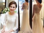 Thời trang - BTV xinh đẹp nhất VTV hé lộ váy cưới đính 10 nghìn viên pha lê