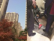Tin tức - Bà bầu 5 tháng sảy thai vì thang máy 'tử thần' rơi đột ngột từ tầng 8
