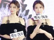 """Làng sao - """"Công chúa Triệu Mẫn"""" Giả Tịnh Văn trả lời tin cấm con dự đám cưới bố đẻ"""
