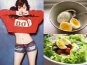 Làm đẹp - Chỉ cần ăn trứng luộc thôi bạn có thể giảm hẳn 11 kg trong 4 tuần