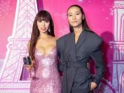 Tin tức giải trí - Siêu mẫu Hà Anh quyến rũ trong đại tiệc thời trang của Lancôme