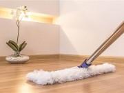Nhà đẹp - Mách nhau cách lau sàn gỗ, sàn đá hoa, sàn bê tông hay sàn đất nung đúng chuẩn