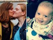 Con gái cực đáng yêu của cặp đôi dắt tay nhau ra nước ngoài thụ thai