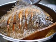 Bếp Eva - Muốn cá rán giòn, không bắn mỡ, nhất định bạn phải làm điều này