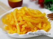 Bếp Eva - Không chỉ để ăn sống, củ đậu cũng có thể làm mứt vị chanh leo ngon tuyệt!