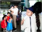 Làng sao - Nhận giải thưởng lớn, vợ chồng Lý Hải được 4 con ra tận sân bay đón