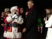 Clip Eva - Tổng thống Obama hát mừng lễ giáng sinh cuối cùng tại nhà Trắng