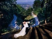 48h, vượt 1200km rừng núi, cặp đôi liều mình lên đỉnh Mã Pì Lèng chụp ảnh cưới