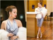Làng sao - Vắng người yêu, Hoàng Thùy Linh vẫn đẹp hút mắt nhìn tại Hà Nội
