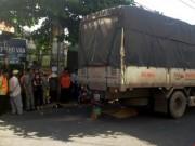 Tin tức - Va chạm khiến thiếu nữ tử vong, container bỏ đi