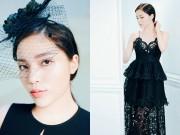 Thời trang - Kỳ Duyên muốn làm bà hoàng trong đêm Huyền thoại những chiếc đầm đen