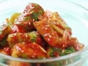 Bếp Eva - Cách làm kim chi dưa chuột siêu tốc, giòn tan, ăn được ngay sau khi làm