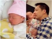 Phan Như Thảo khoe ảnh con gái Bồ Câu đáng yêu, giống bố như đúc