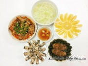 Bếp Eva - Bữa cơm 5 món cả nhà thích mê
