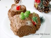Bếp Eva - Giáng sinh thêm ngọt ngào với bánh khúc cây đẹp mắt