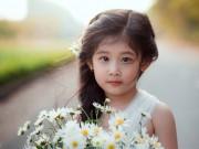 """Làm mẹ - Vẻ đẹp của bé gái Hải Dương được coi như bản sao """"Thần tiên tỉ tỉ"""" Lưu Diệc Phi"""