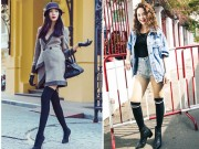 Thời trang - Đây là cách mà nhiều sao Việt tiết kiệm tiền mua boot mùa đông
